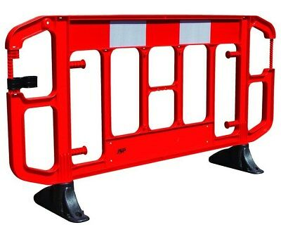 JSP Titan 2m Work Site Reflective Road Traffic Safety Barrier with Feet, REX54
