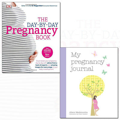 My Pregnancy Journal and Day-by-Day Pregnancy Book 2 Books Collection Pack Set
