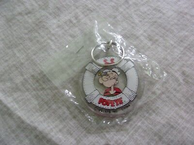 Popeye The Sailor Man Key Chain 1991 New Old Stock 1991