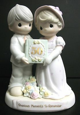 New Precious Moments To Remember 50 Year Anniversary 50Th Marriage Love 1995