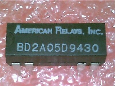 Bd2A05D Dpst Reed Relay 5V