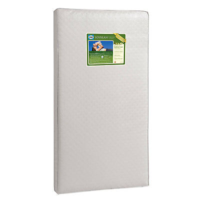 Sealy Infant and Toddler Soybean Foam Core Waterproof Crib Nursery Mattress