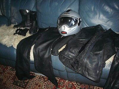 Ladies Quality Leather Motorcycle Wear ....bargain L@@k