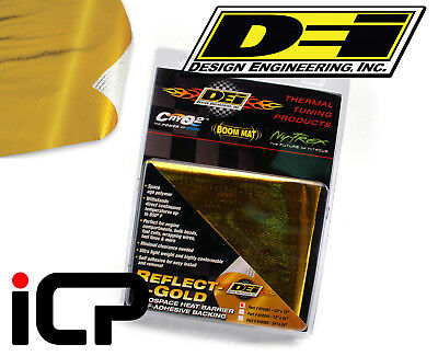 "DEI Reflect A Gold Heat Reflection Protection Sheet Gold Wrap 12""x12"""