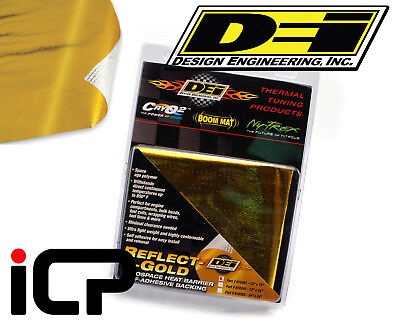 "DEI Reflect A Gold Heat Reflection Protection Sheet Gold Wrap 12""x24"""