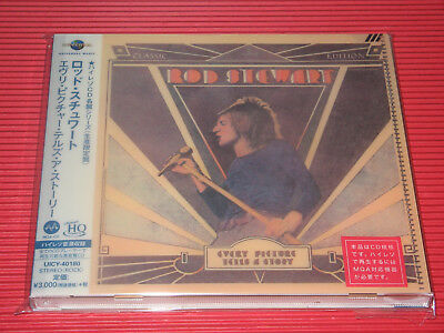 JAPAN MQA UHQ CD ROD STEWART Every Picture Tells A Story  High Resolution Audio