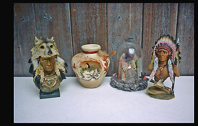 SOUTHWESTERN REFLECTIONS Native American - Figurines Sculpture & Mini Vase