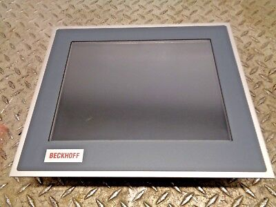 Beckhoff Cp6201-0001-0000 12-Inch Display 800 X 600 Touch Screen