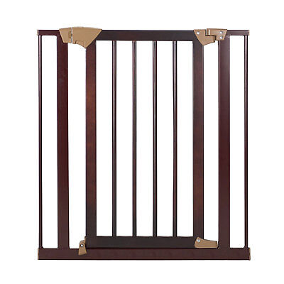 Baby Trend Pressure Fit Hard Wood & Metal Baby and Pet Easy Lock Safety Gate