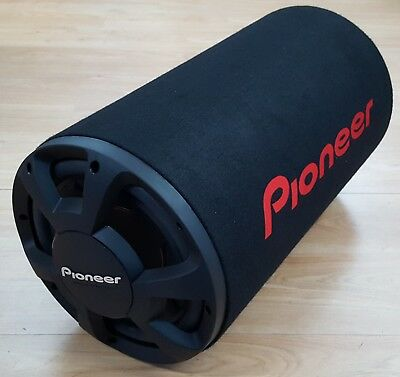 """Pioneer TS-WX306T 12"""" Car Subwoofer Tube 1300w Max Power Bass Tube EX-DEMO#356"""