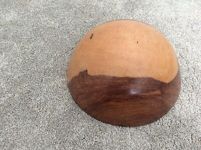 African Hand Carved Wooden Bowl