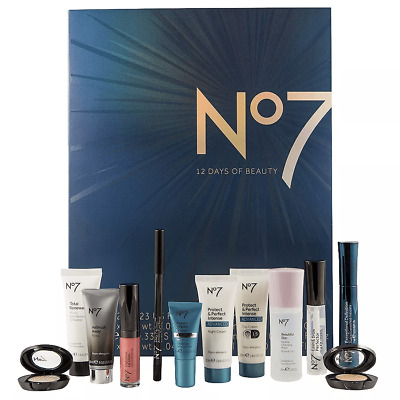 No7 12 Days of Beauty Kit Skincare & Make Up SEALED Free Shipping NEW