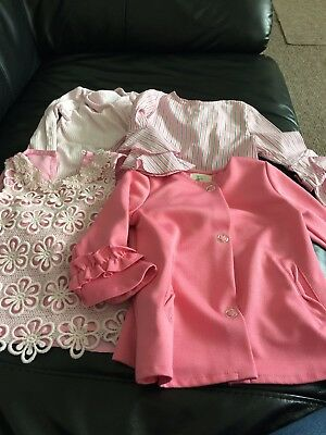 river island mini 9-12 months girls bundle tops pink