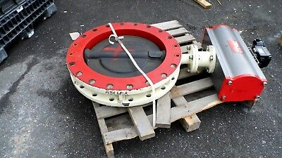 "Townley Mfg Series 120 B7V 24"" Butterfly Valve & Triac 3500 Actuator"