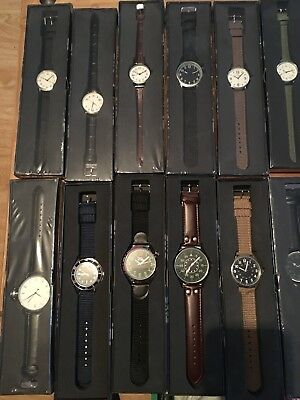 eaglemoss military watches Job Lot Collection 1-43 Books And Watches