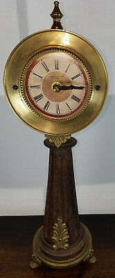 "French Empire Jean Verdier 15 1/2"" Shelf Clock Case Only"