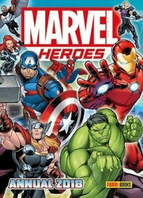 Marvel Heroes Annual 2018 by Simon Frith 9781846532306 (Hardback, 2017)