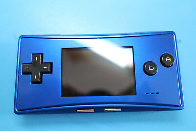 Nintendo Game Boy Micro Launch Edition Blue With Games