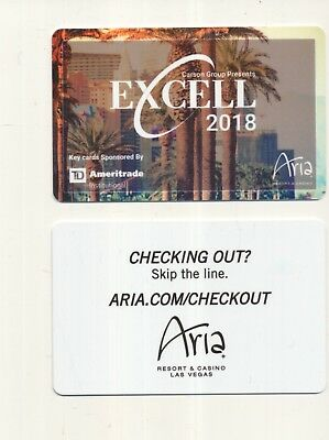 new from-------The ARIA---------Las Vegas,NV----Room key