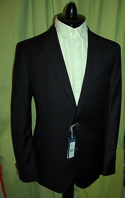 NWT VINEYARD VINES mens 2 gold button dk navy blue wool blazer 46L $495 CANADA