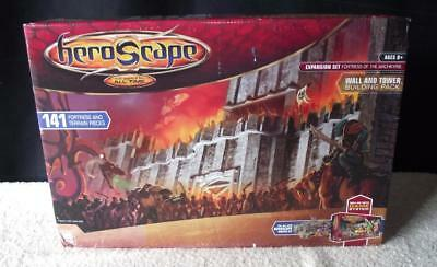 HeroScape Wall and Tower Building Pack Expansion Set Fortres of Archkyrie Sealed