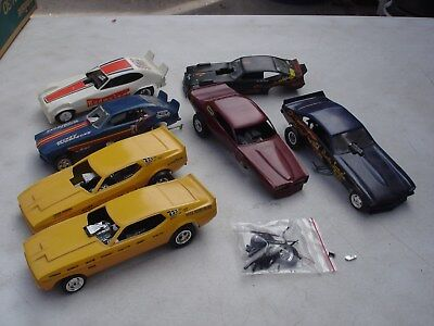 Lot Of Built Johan Amt & Revell Funny Cars