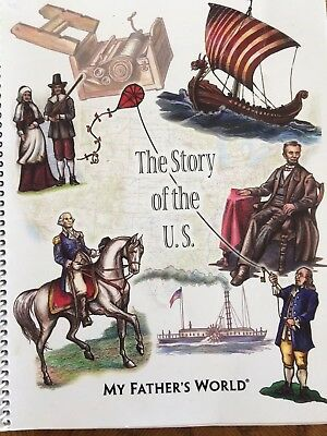 """My Father's World """"The Story of the U.S."""" History Homeschool Book"""