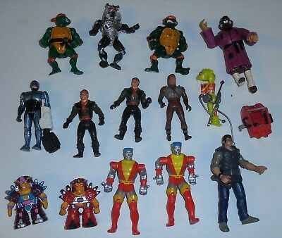 Mixed Lot Of Vintage Action Figures