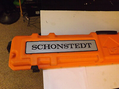 SCHONSTEDT MAC-51Bx MAGNETIC PIPE AND CABLE LOCATOR FOR SURVEYING & CONSTRUCTION
