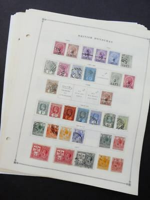 EDW1949SELL : BR HONDURAS Very clean Mint & Used collection on pages. Cat $588.