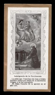 "santino-holy card""S.FRANCESCO D'ASSISI 13"