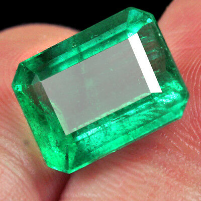 7.4CT 100% Natural Museum Grade Green Emerald Collection QMD3383