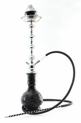 "1 hose 28"" BOSS Hookah shisha nargila bar narguile nargile glass water Vase new"
