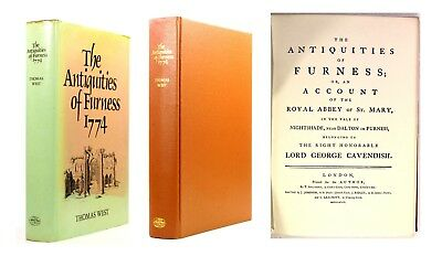 1774 18th Century The Antiquities of Furness Thomas West Abbey of St Mary Scarce