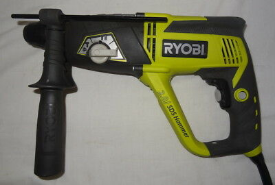 As New Ryobi ERH710RG Variable Speed Rotary Hammer Drill in Carry Case