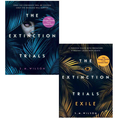 S.M. Wilson Extinction Trials Series 2 Books Collection Pack Set Exile NEW BRAND