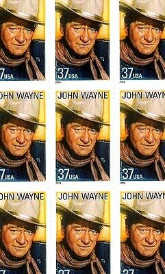 2004 - JOHN WAYNE - #3876 Full Mint -MNH- Sheet of 20 Postage Stamps