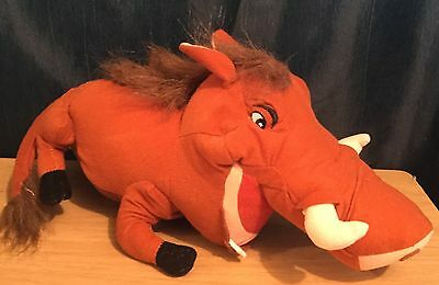 Disney The Lion King 12 Inch Pumbaa Soft Toy By Toy Factory