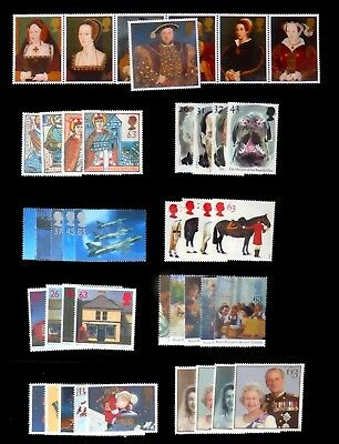 GB 1997 Commemorative Complete Year Collection 9 Sets U/M NC526