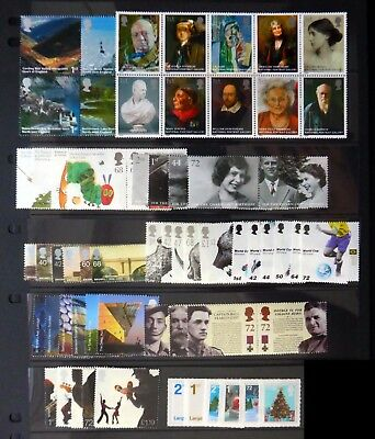 GB 2006 Commemorative Complete Year Collection 10 Sets U/M NC517