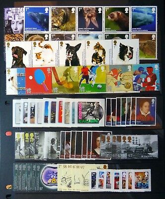 GB 2010 Commemorative Complete Year Collection 12 Sets U/M NC670