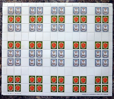 GB Isle of MAN 1979 Millennium 5 Complete Sheets of 80 SEE BELOW NB2770