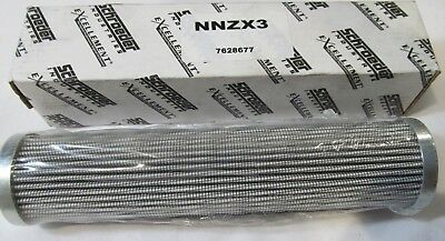 New Genuine Schroeder Nnzx3 7628677 Synthetic Media Hydraulic Filter Element