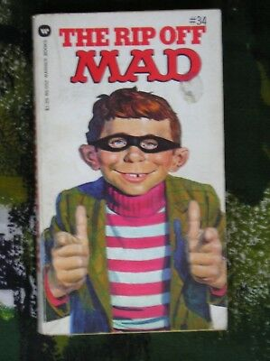 The Rip Off Mad Mad Magazine Paperback