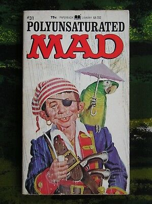 Polyunsaturated Mad Mad Magazine Paperback