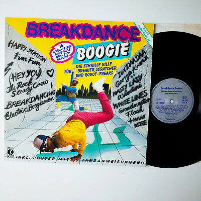 Various ‎– Breakdance Boogie , GER`84,  LP,  Vinyl: vg+