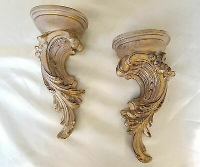 Very Large Ornate over door / wall Pediment White