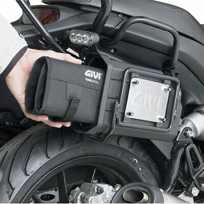 Givi S250 Tool Box + Roll bag T515 + Kit to Install S250KIT BMW F 650 GS 2011