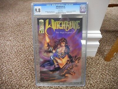 Witchblade 1 cgc 9.8 Image 1995 Michael Turner cover 1st Sara Pezzini as Witchbl