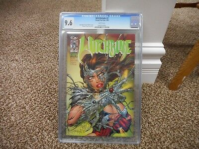 Witchblade 2 cgc 9.6 Image 1995 Michael Turner cover NM MINT WHITE pgs TV show